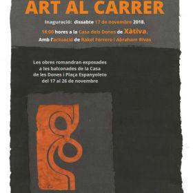 XATEBA CELEBRA EL SEU XI ART AL CARRER