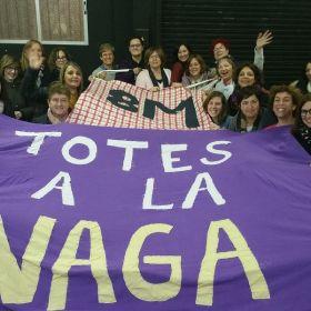XATEBA PREPARA JA EL 8M VAGA FEMINISTA